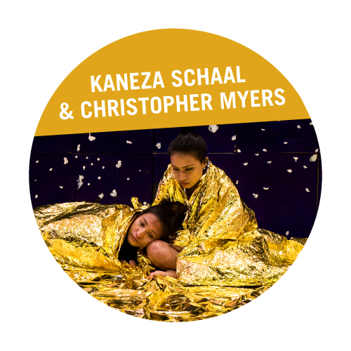 Kaneza Schaal and Christopher Myers