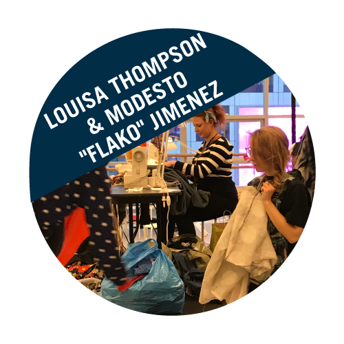 "Louisa Thompson & Modesto ""Flako"" Jimenez"