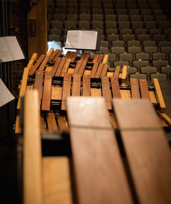 Marimbas of various tonalities