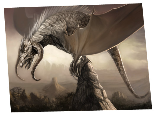 Dragon illustration by David Revoy