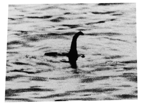 Loch Ness Monster hoaxed photograph