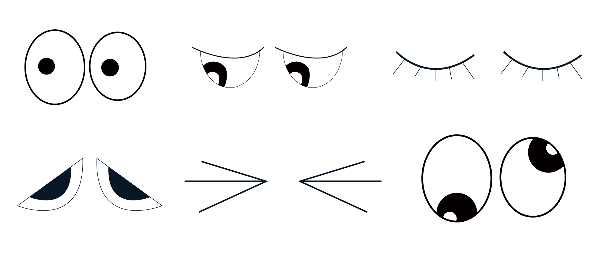 Examples of Eyes