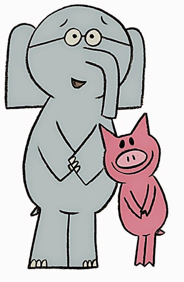 Elephant and Piggie in the Books