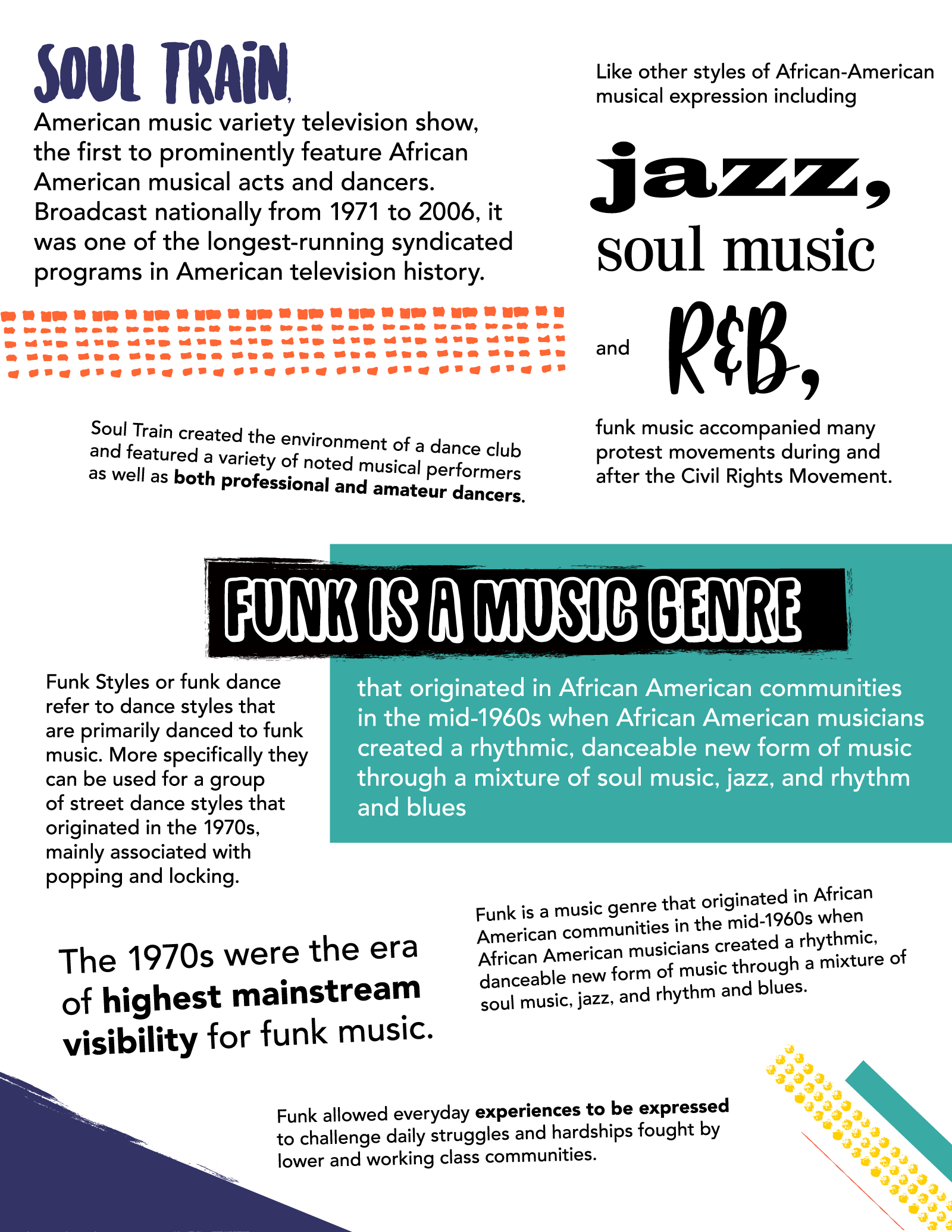 Funk Facts