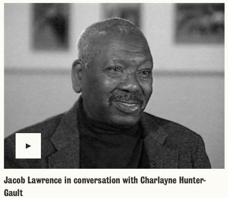 Jacob Lawrence in Conversation