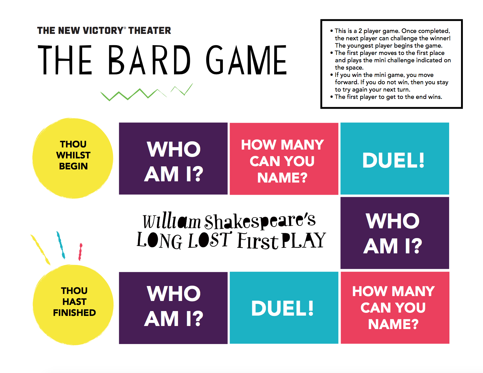 The Bard Game