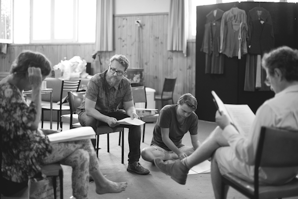 The Young King rehearsal photo