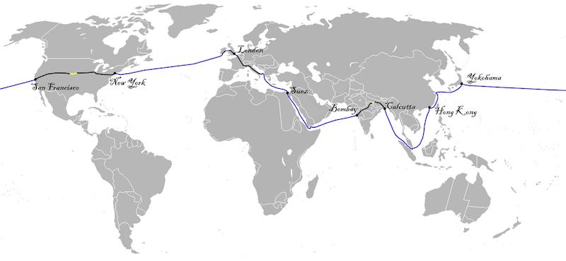Their Journey Around the World