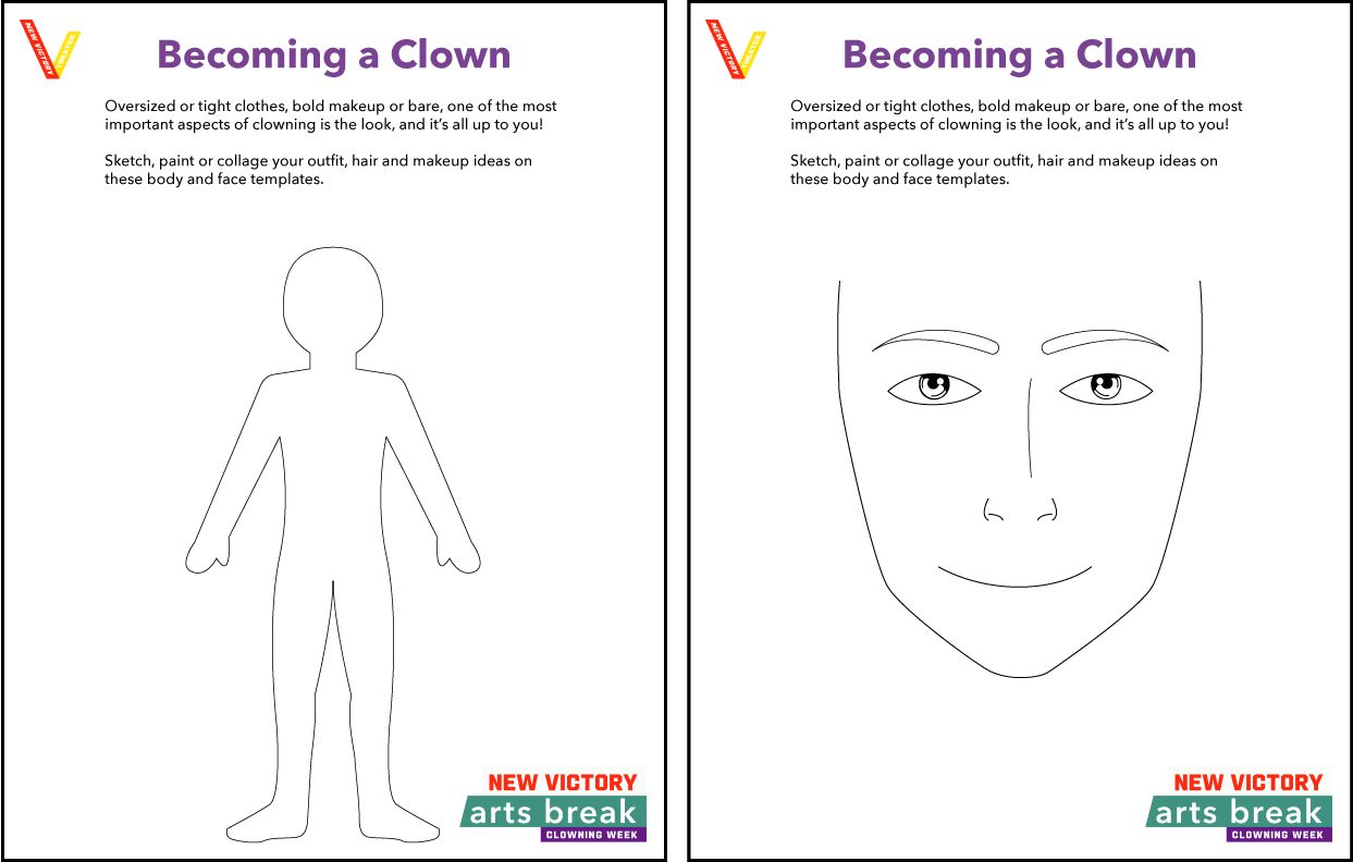 Becoming a Clown Template