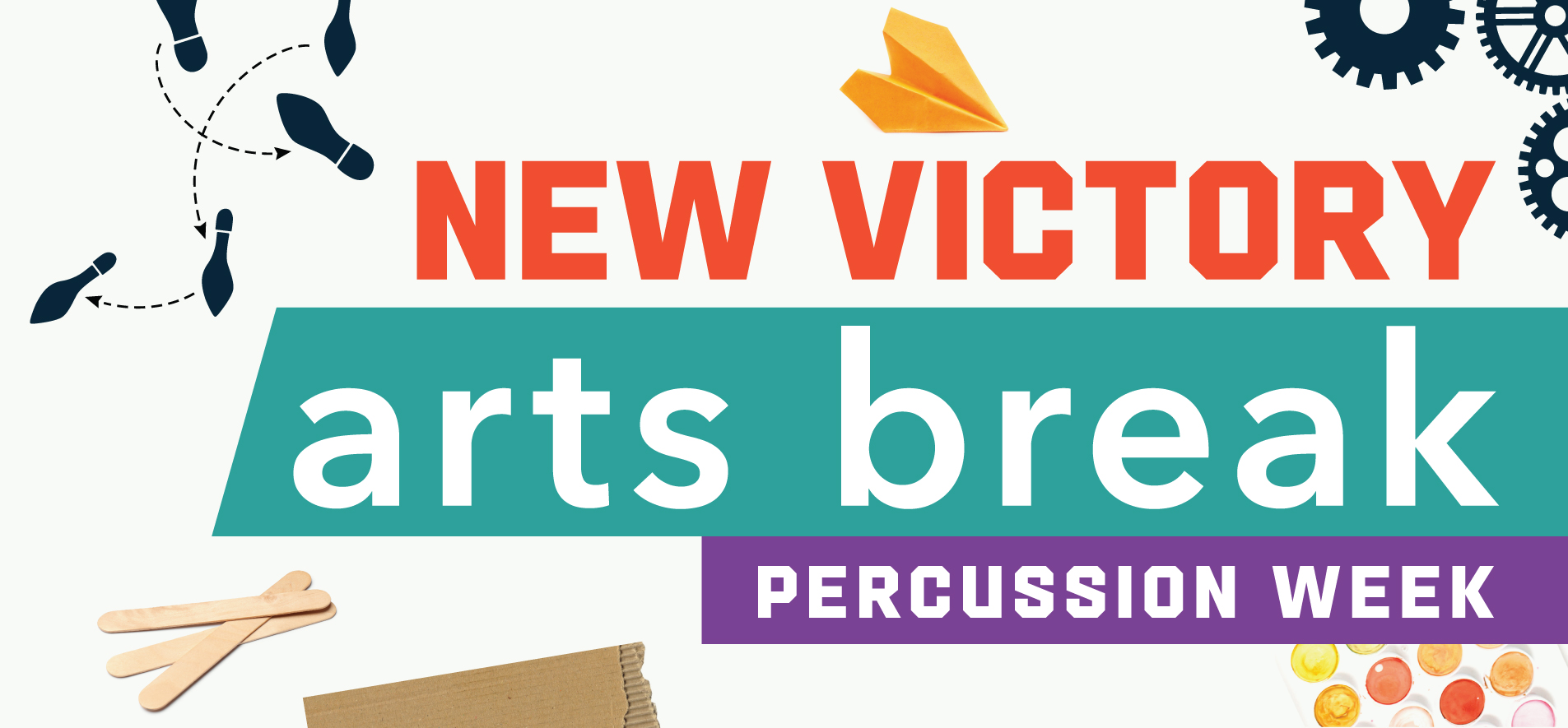 New Victory Arts Break: Percussion Week