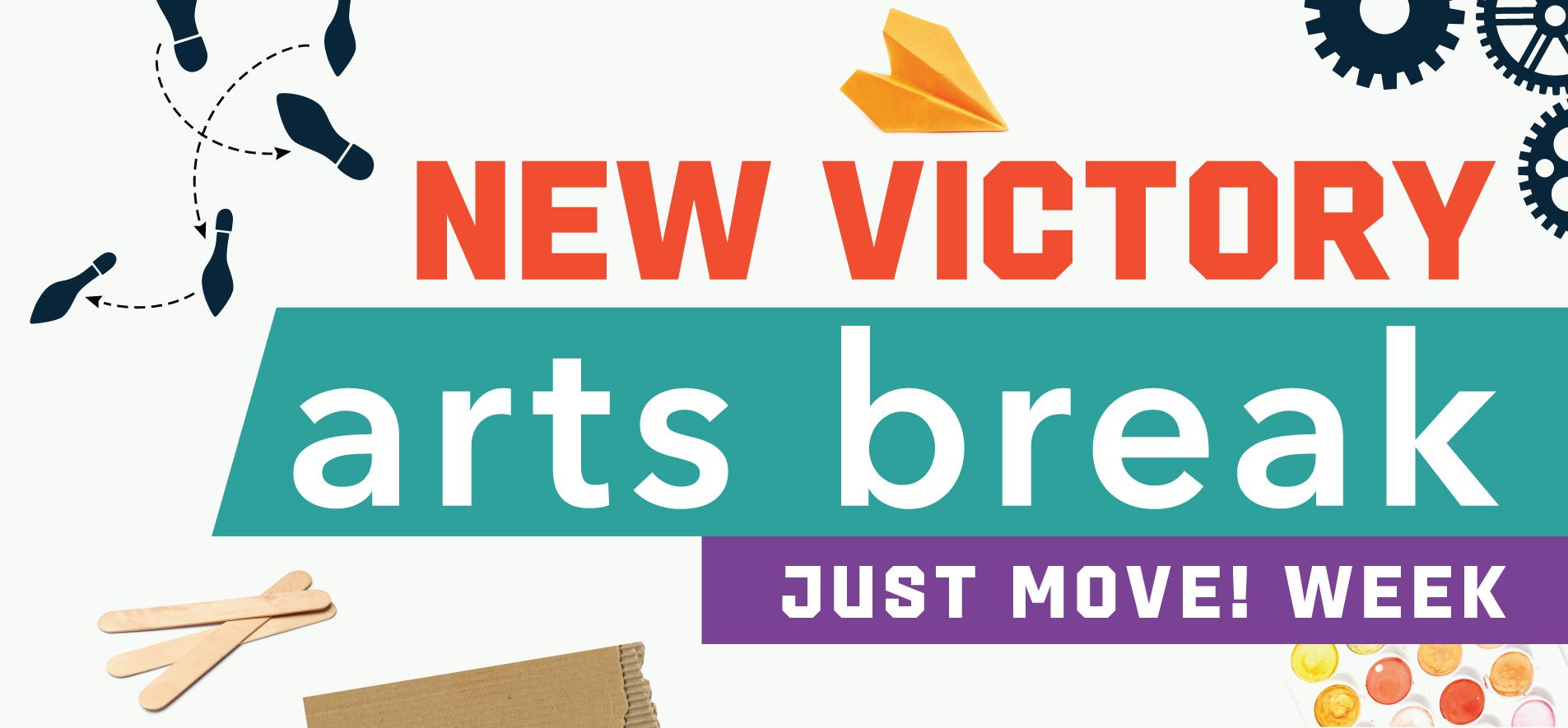 New Victory Arts Break – Just Move! Week