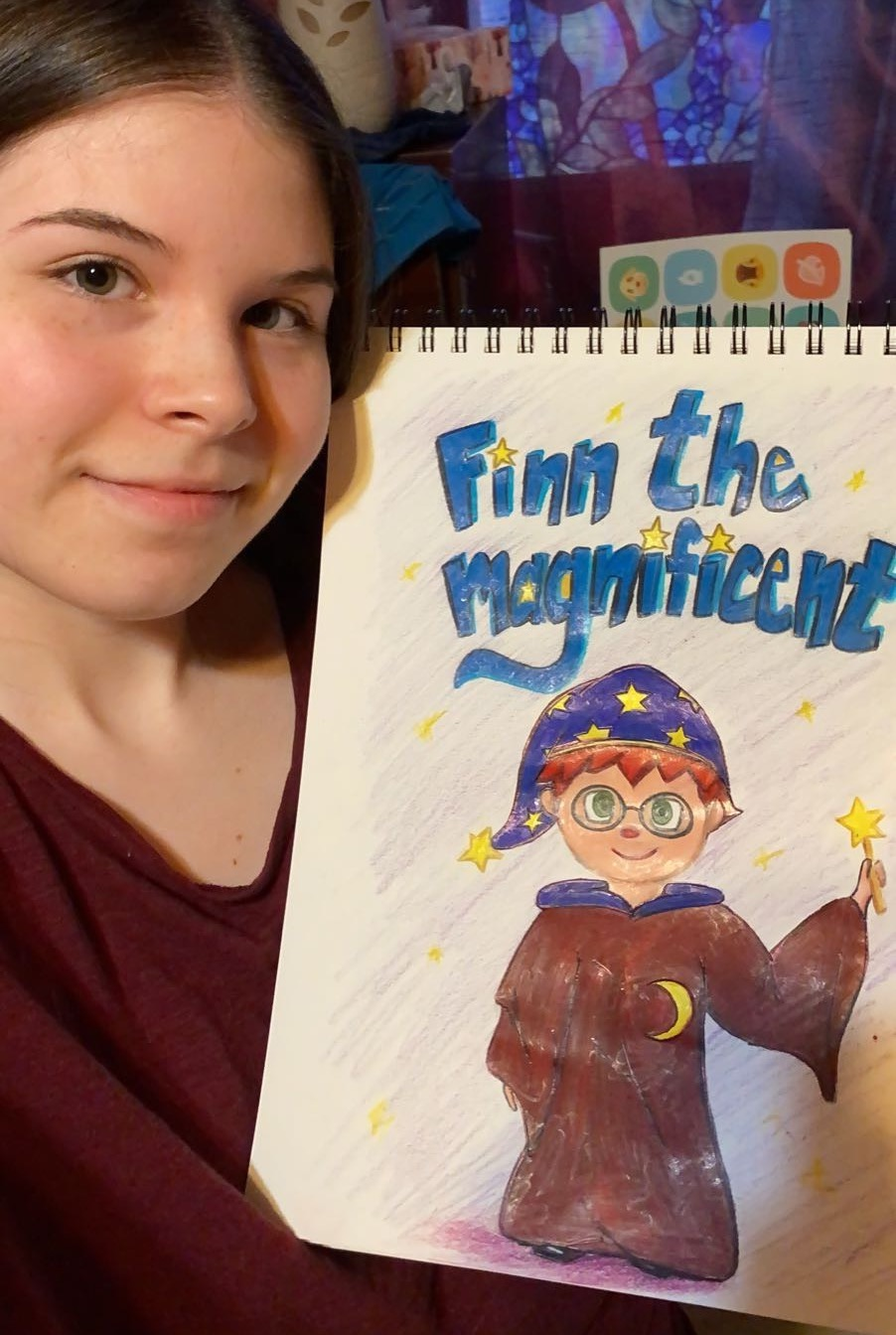 Veronica's Example—Finn the Magnificent