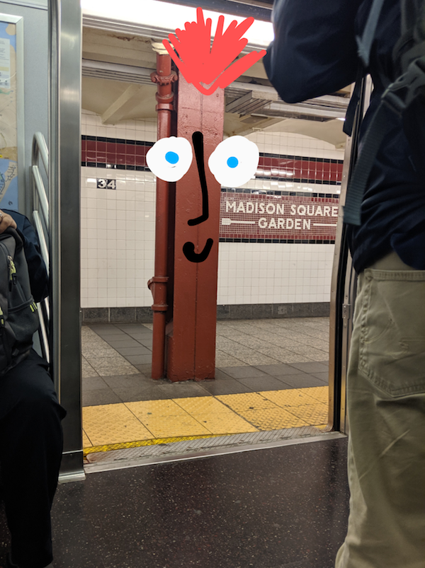 Subway Creature One