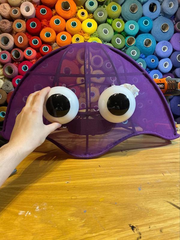 Grandma Galla Trilobite Mask