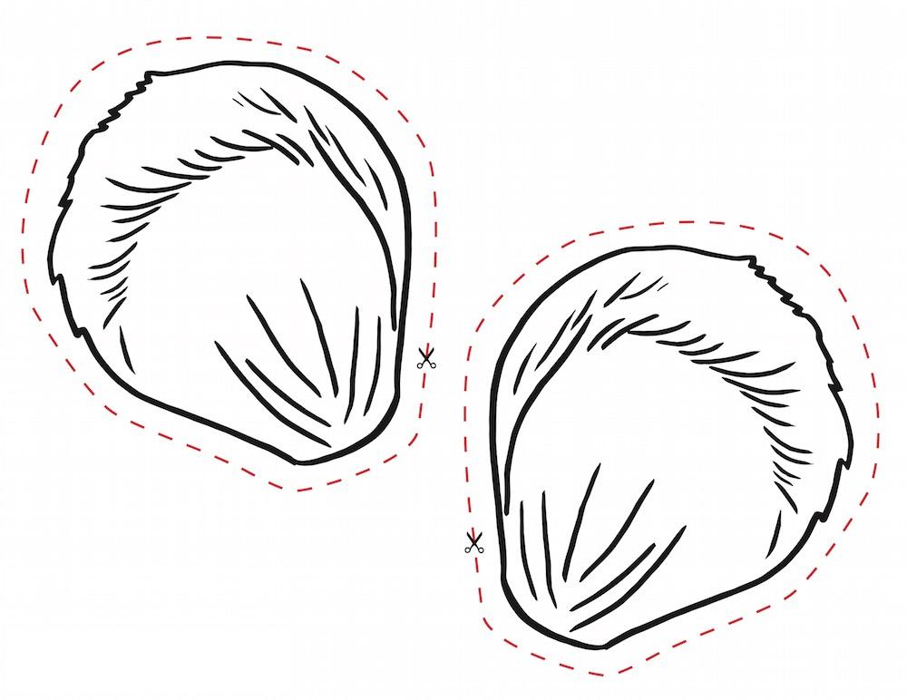 Nice Template For Mouse Ears Vignette - Resume Ideas - namanasa.com