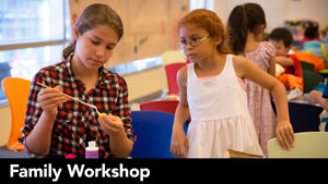 Family Workshop: Monster Puppets
