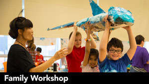 Family Workshop: Puppetry