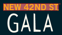 The New 42nd Street Gala