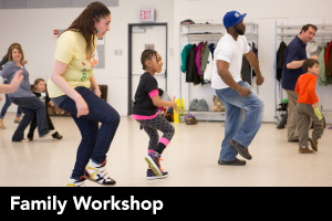 Family Workshop: African Dance