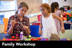 Family Workshop: Magical Masks