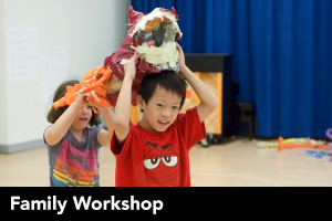 Family Workshop: Prehistoric Puppets