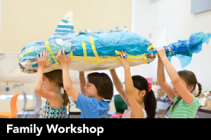 Family Workshop: Under-the-sea Puppetry