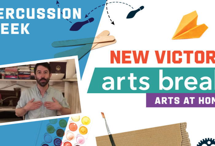 New Victory Arts Break Percussion Week