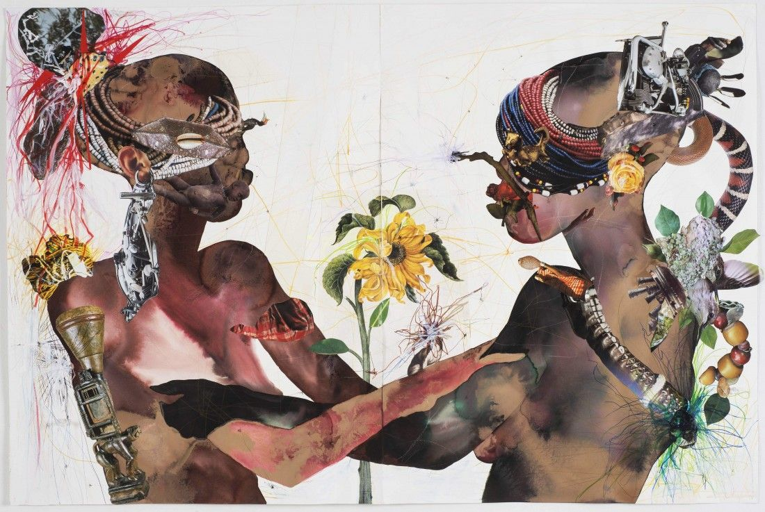 """You Are My Sunshine"" by Wangechi Mutu (2015)"