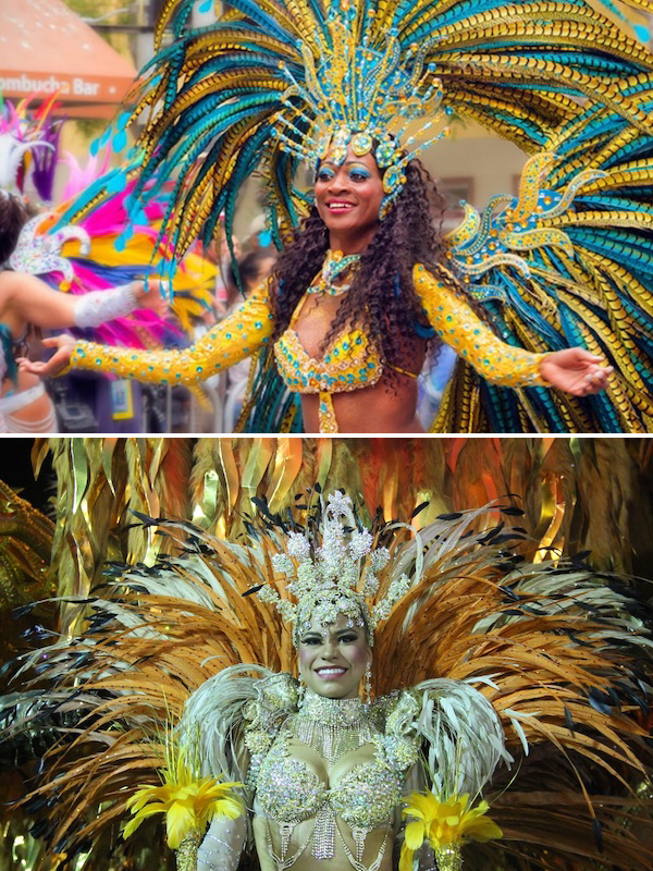 Colorful Carnaval Costuming