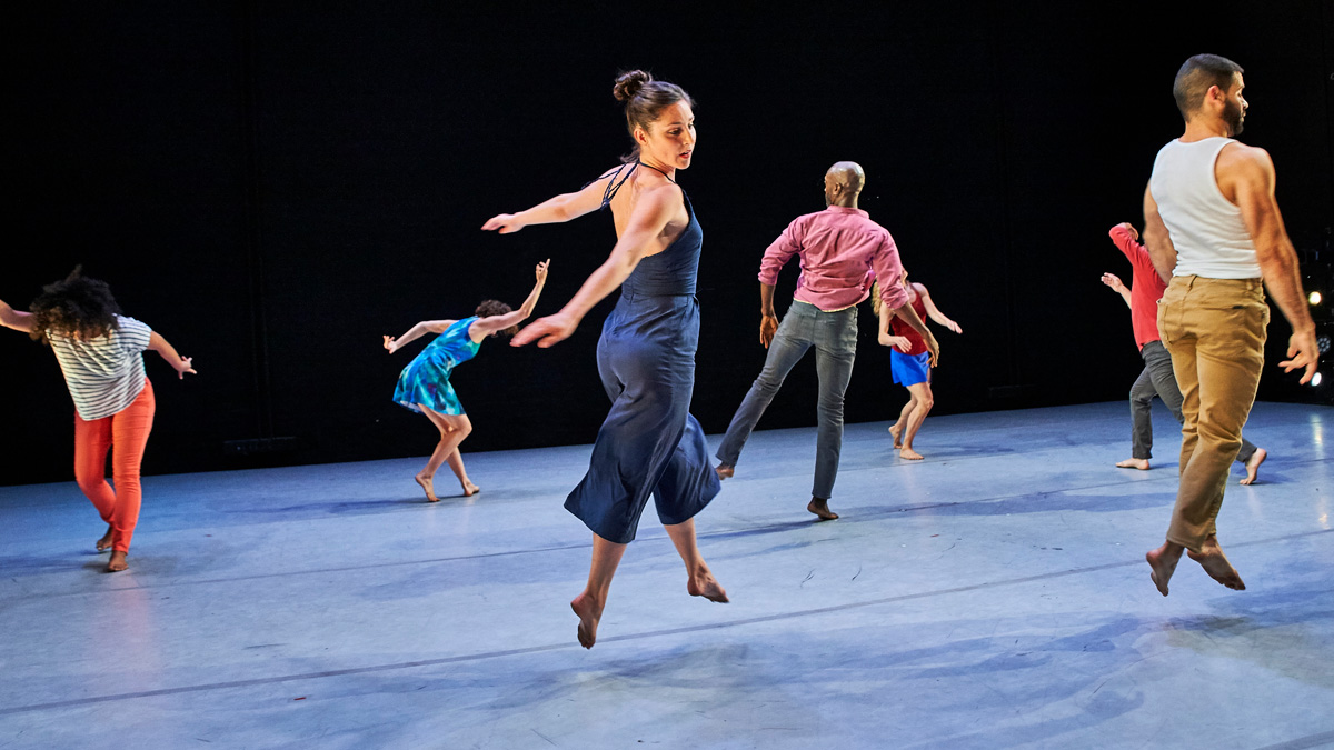 Dancers in Jane Comfort and Company's You Are Here