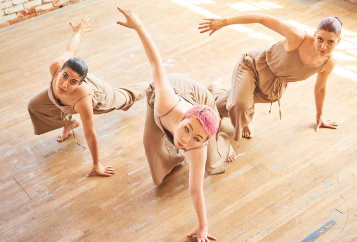 Dancers in Mozaik Dance's Sad Hope