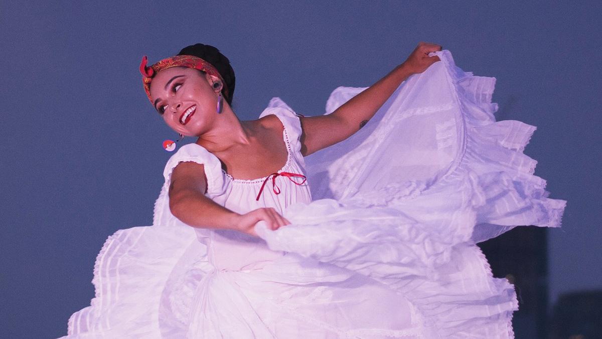 Dancer in Ballet Nepantla's Coco (from Sin Fronteras)