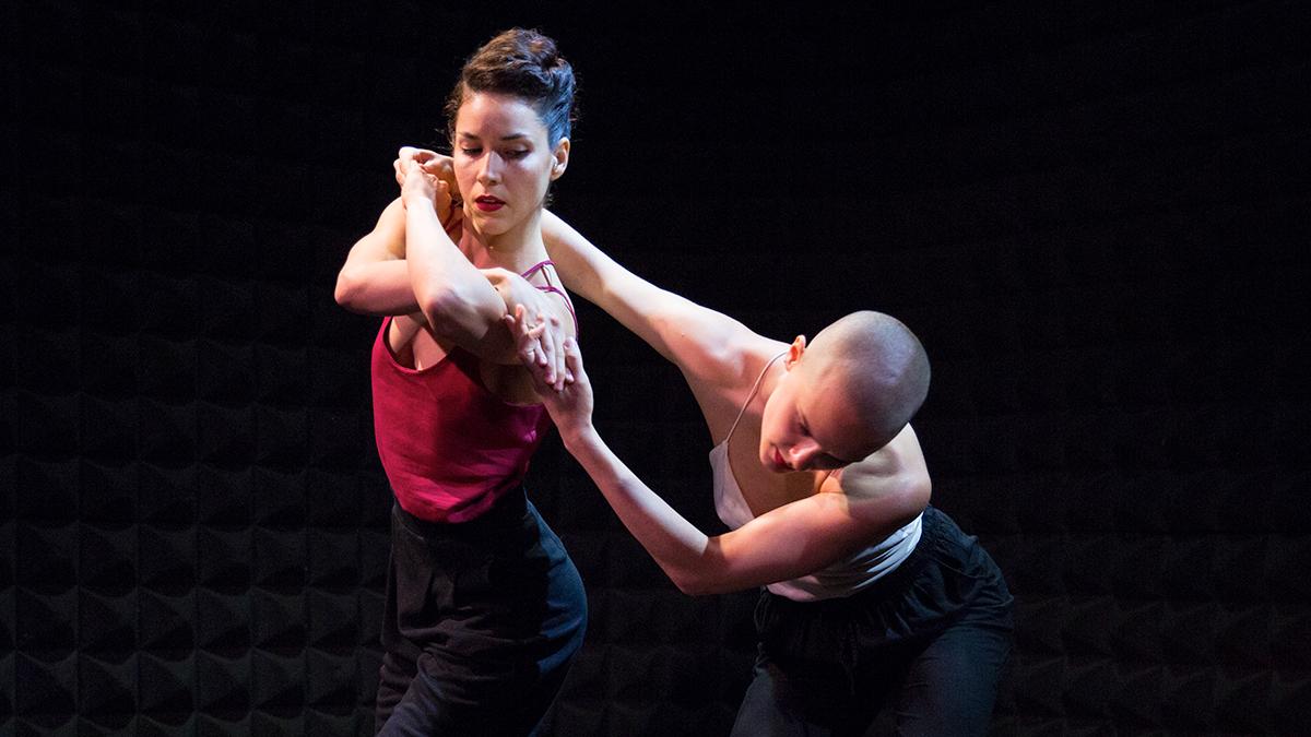 Dancers in Kate Weare Company's Sin Salida