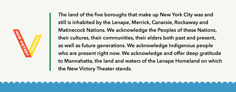 New Victory Land Acknowledgement