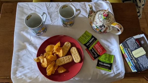 Teatime snacks