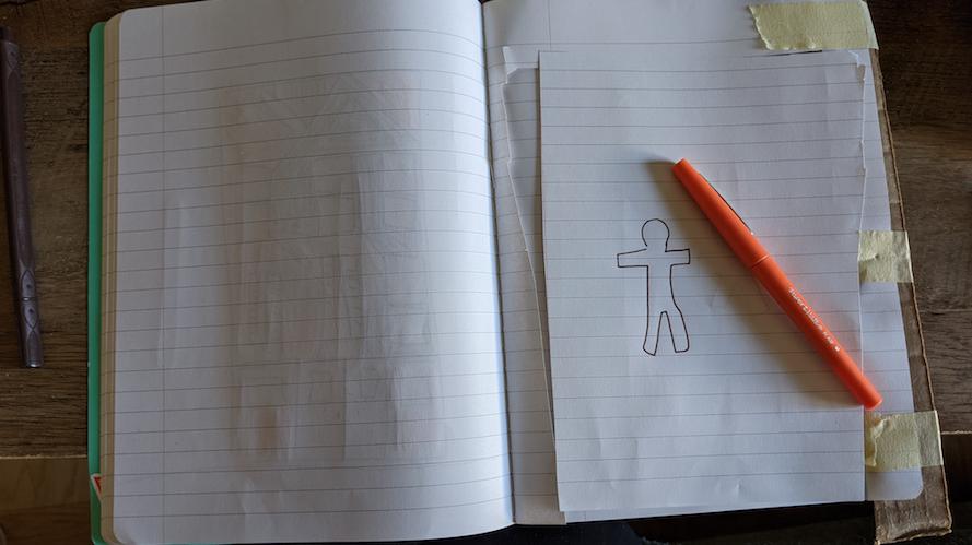 Sketch of person