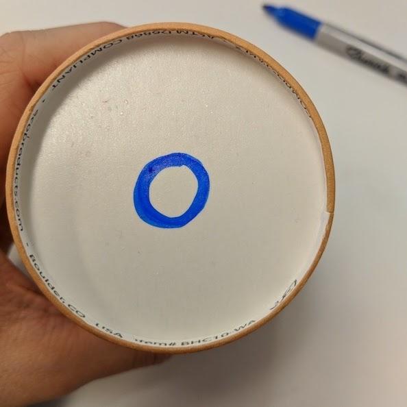 Air Play Materials Blue Circle