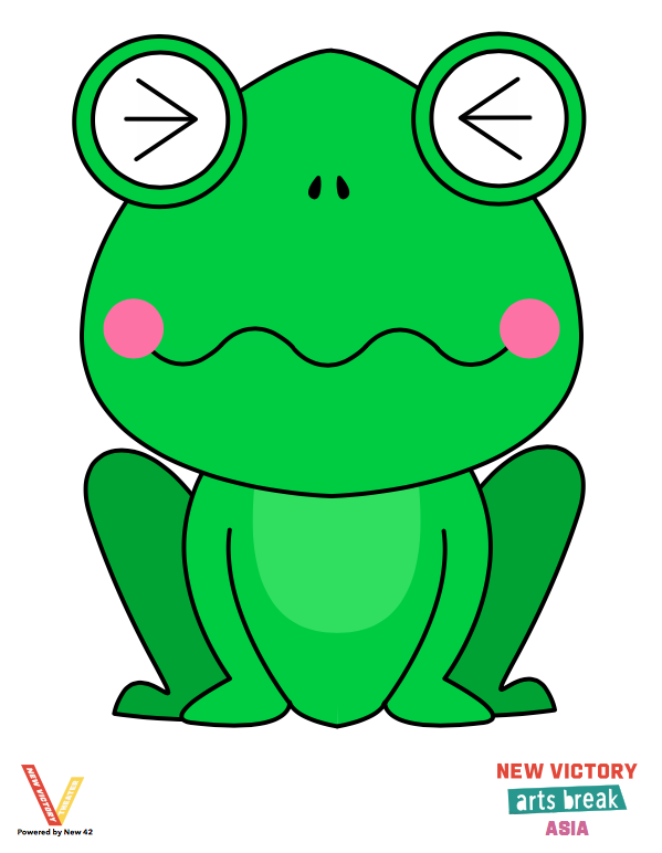 Arts Break Frog 2 of 2