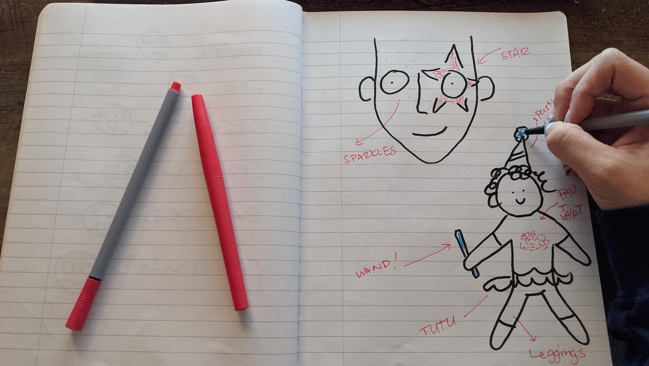 Clown Notebook Example