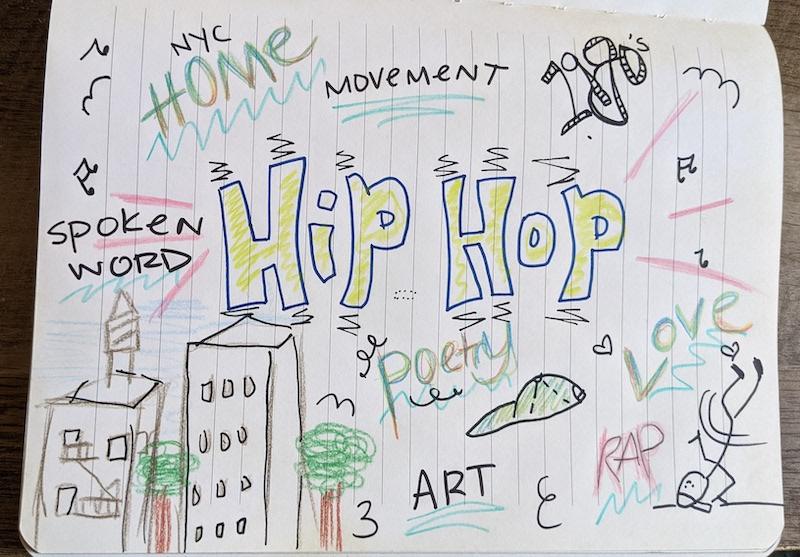 Hip-hop drawing