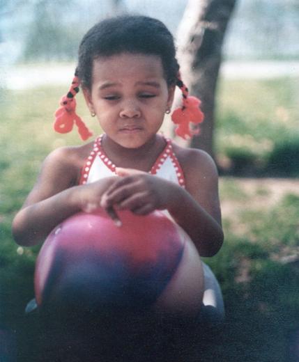 Nambi E. Kelley at 2 years old