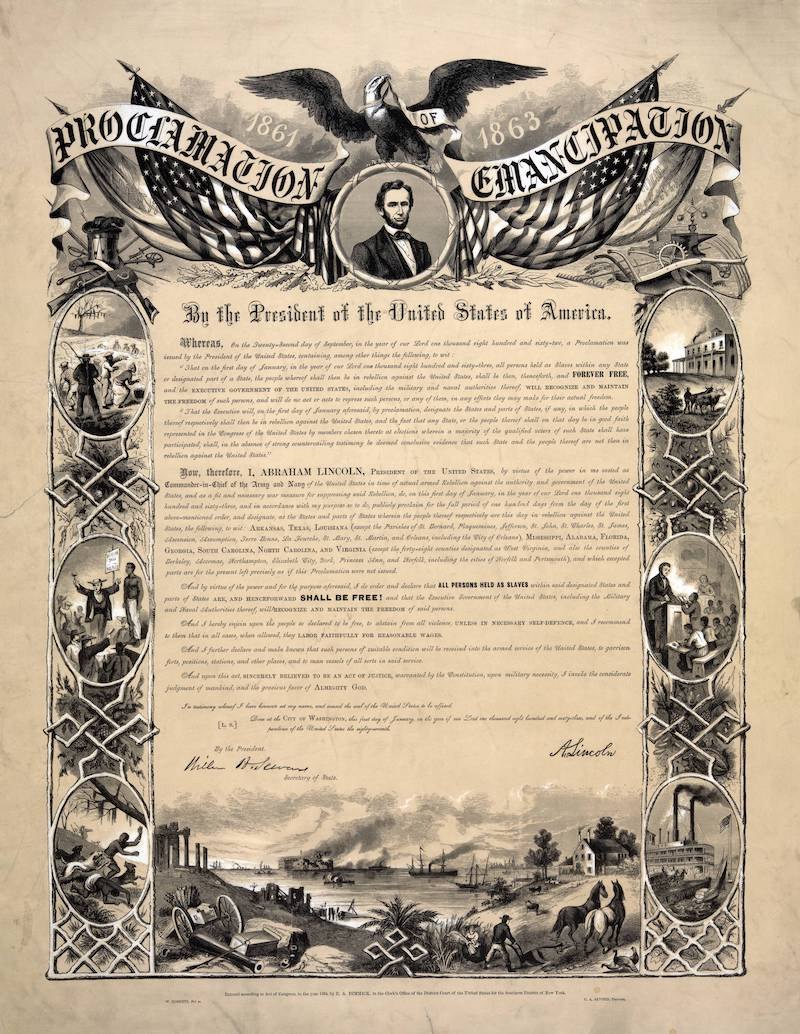 An image of The Emancipation Proclamation