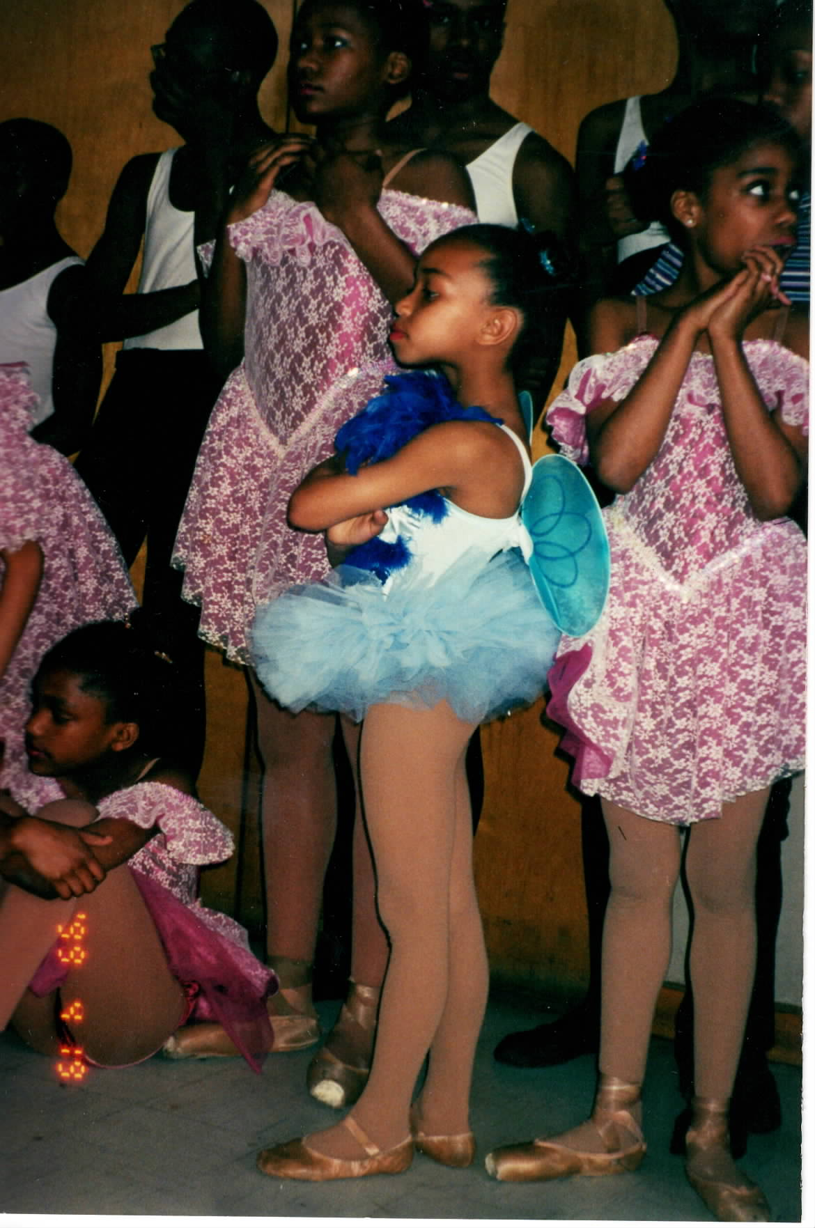 ChelseaDee Harrison as a young dancer