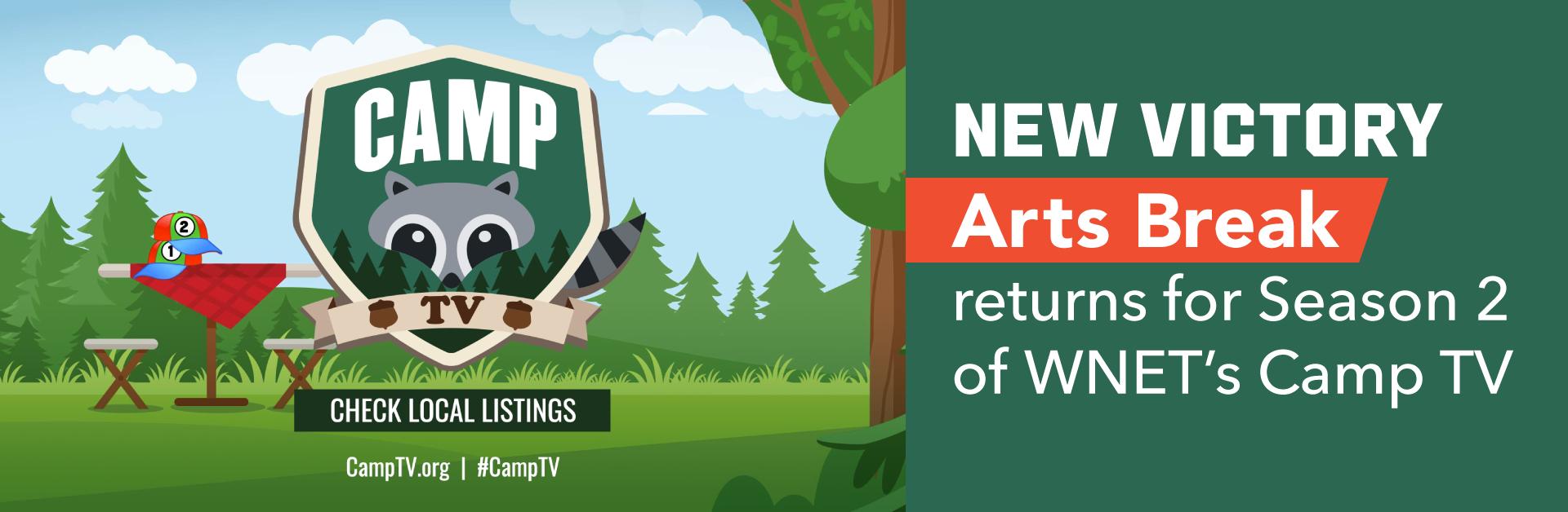 New Victory Arts Break Returns for Season 2 of WNET's Camp TV